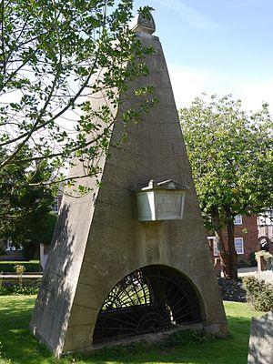 John Claudius Loudon - The Loudon memorial in Pinner churchyard
