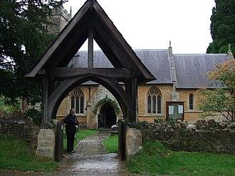 Pitcombe - Image: St Leonards Church, Pitcombe geograph.org.uk 1092777