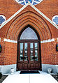 St Pauls United Methodist in Monroe MI front entrance.jpg