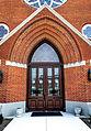 St Pauls United Methodist in Monroe MI front entrance.jpg