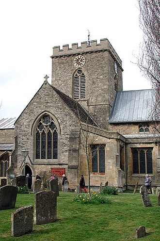 Church of St Peter and St Paul, Wantage - Image: St Peter and St Paul, Wantage, Berks geograph.org.uk 331035