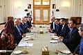Staffan de Mistura meet with Sadegh Hosein Jaberi Ansari Spokesperson for the Ministry of Foreign Affairs of Iran 08.jpg