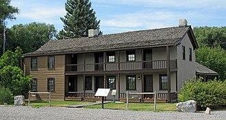 Camp Floyd / Stagecoach Inn State Park and Museum - Stagecoach Inn, Camp Floyd State Park in Fairfield, Utah