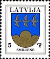 Stamps of Latvia, 2011-13.jpg