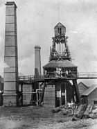 StateLibQld 1 110012 Pithead at the Brilliant Deep Mine, Charters Towers, ca. 1891