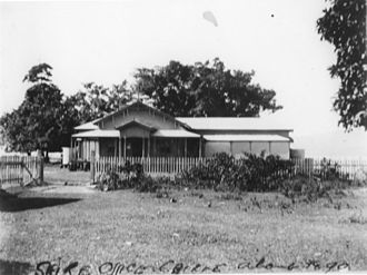 Shire of Mulgrave (Queensland) - Chambers of the Cairns Divisional Board, circa 1890