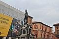 Statua del Nettuno Bologna con pubblicità.jpg