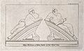 "Statues of ""raving"" and ""melancholy"" madness, each reclining Wellcome V0013200.jpg"