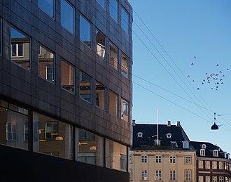 Stelling House - Image: Stellings Hus facade detail