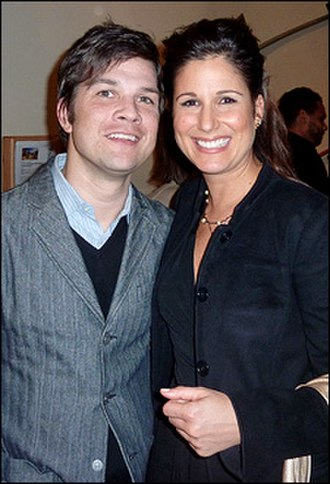 Stephanie J. Block - Stephanie J Block with Stephen Oremus, with whom she worked in Wicked.