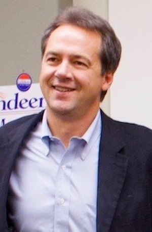Steve Bullock (American politician) - Bullock at a campaign event in Glasgow, Montana, October 31, 2012.