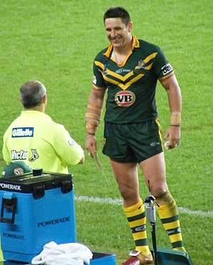 Steve Price (rugby league) - Price while playing for Australia in 2008