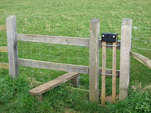 Stile with dog gate OS SY567846