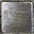 Stolperstein Aachener Str 41 (Wilmd) Bruno Weinberg.jpg