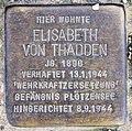 Stolperstein Carmerstr 12 (Charl) Elisabeth von Thadden.jpg