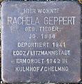 Stolperstein Köln, Rachela Geppert (Fleischmengergasse 24).jpg