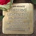 Stolperstein Nicolaistr 38 (Lankw) Friederike Lichtenstein.jpg