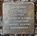 Stolperstein Rheinbabenallee 49 (Dahlem) Emil Milch.jpg
