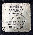 Stolperstein Wielandstr 27 (Schön) Bernhard Guttmann.jpg