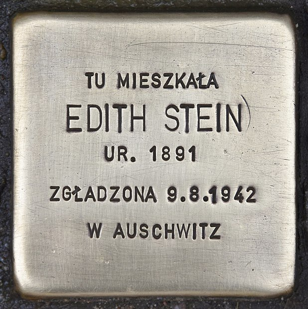 File:Stolperstein für Edith Stein 2.JPG