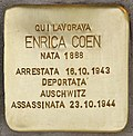 Stolperstein für Enrica Coen (Ancona).jpg