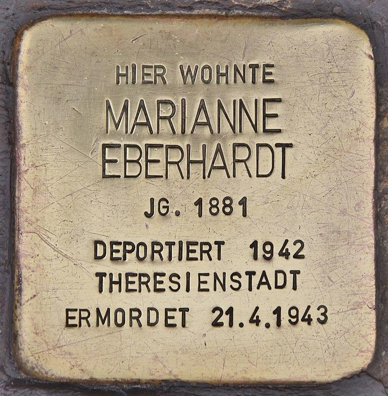 Stolperstein für Marianne Eberhardt (Maßbach).jpg