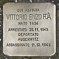 Stolperstein für Vittorio Enzo Foa (Padua).jpg