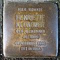 Stolpersteine Dortmund Brackeler Hellweg 116 Henriette Klonower.jpg
