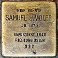 Stolpersteine Höxter, Samuel J. Wolff (Marktstraße 27).jpg