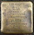 Stolpersteine Köln, Ella Jacobsohn (Zülpicher Straße 302).jpg