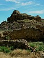 Stone walls at Chaco Culture National Historic Park.jpg