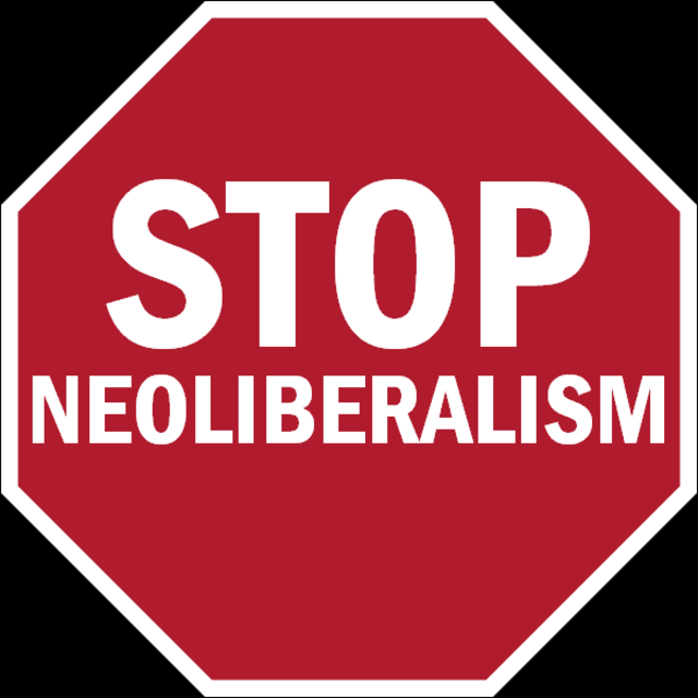 From commons.wikimedia.org: Stop-Neoliberalism {MID-179888}