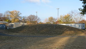 Story Mound (Cincinnati, Ohio) - Eastern side of the mound