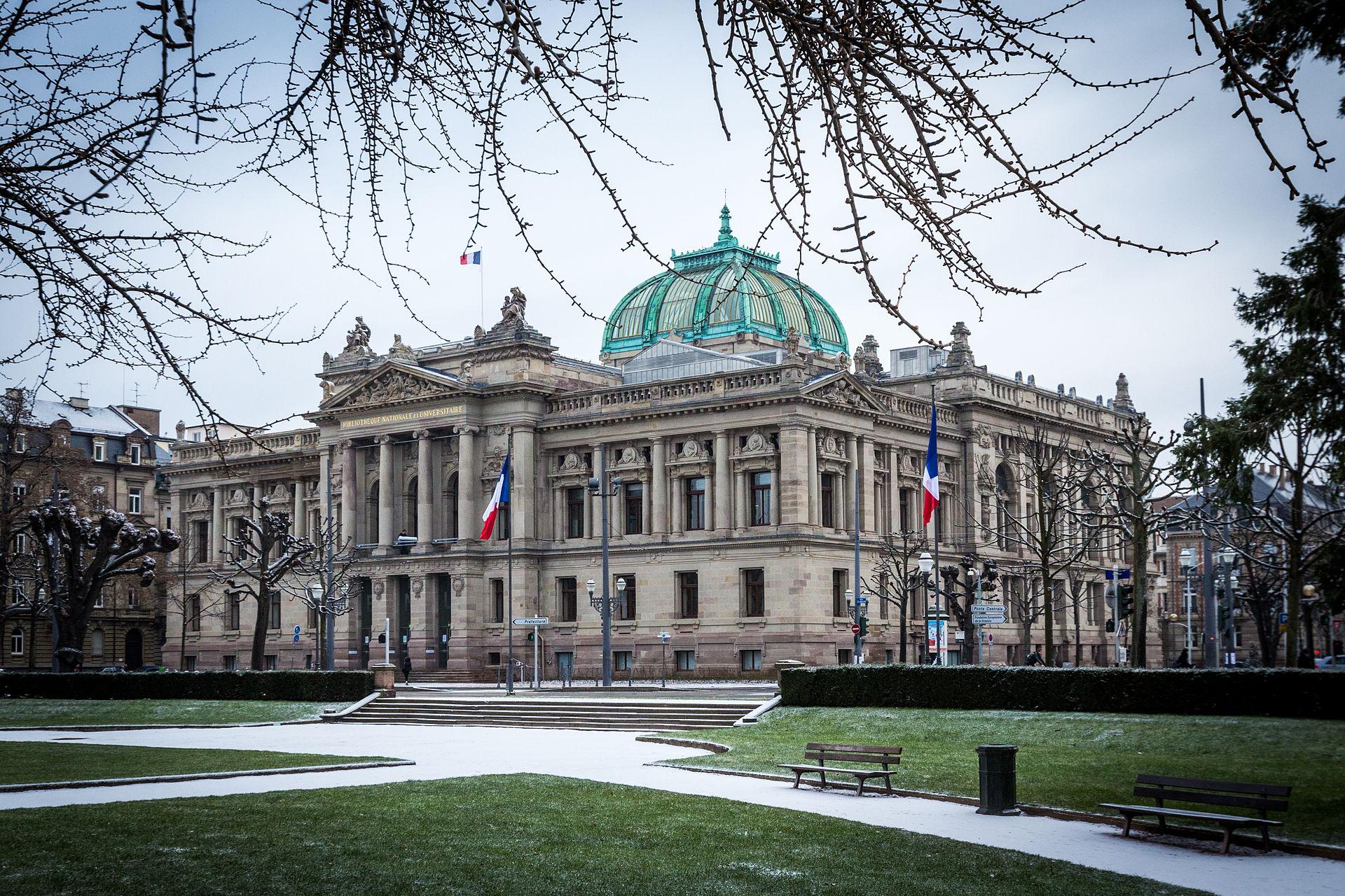 Biblioth que nationale et universitaire de strasbourg for Piscine publique paris
