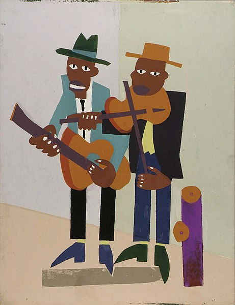 File:Street Musicians, by William H. Johnson.jpg
