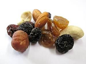 Trail mix - Studentenfutter (student food)