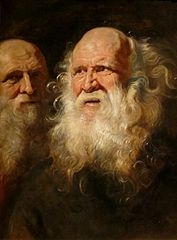 Study of Two Bearded Old Men
