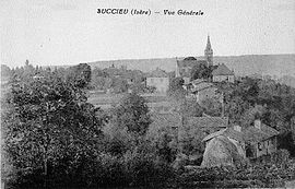 A general view of Succieu at the start of the 20th century