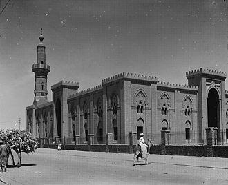 Omdurman - Omdurman's Great Mosque, 1936.