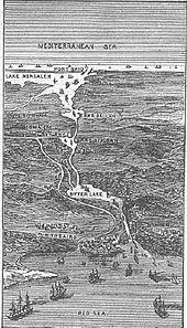Suez Canal drawing 1881