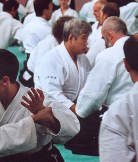Toshiro Suga Japanese aikido teacher