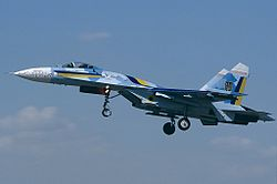 Sukhoi Su-27 (Su-27S), Ukraine - Air Force AN1185526.jpg