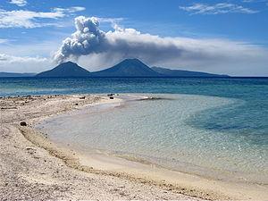 Bismarck Archipelago - Rabaul caldera, New Britain
