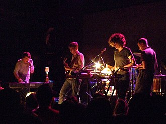 Sunset Rubdown - Performing in New York City in 2007.