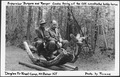 Supervisor Burgess and Ranger Cooke Trying out The CCC Constructed Hobby Horse, Douglas Fir Forest Camp, Mount Baker... - NARA - 299069.tif