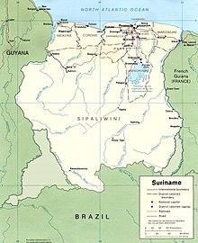 Surinam - Wikipedia, la enciclopedia libre
