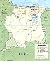 Suriname1991 Karte umstrittene Gebiete.jpg
