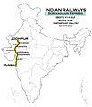 Suryanagri Express (Bandra - Jodhpur) Route map.jpg