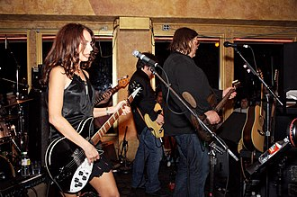 Under the Covers, Vol. 1 - Susanna Hoffs and Matthew Sweet at SXSW 2006 in Austin, Texas.