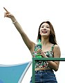 Suzy at the opening of the 2nd Sinchon Water Gun Festival, July 26, 2014.jpg